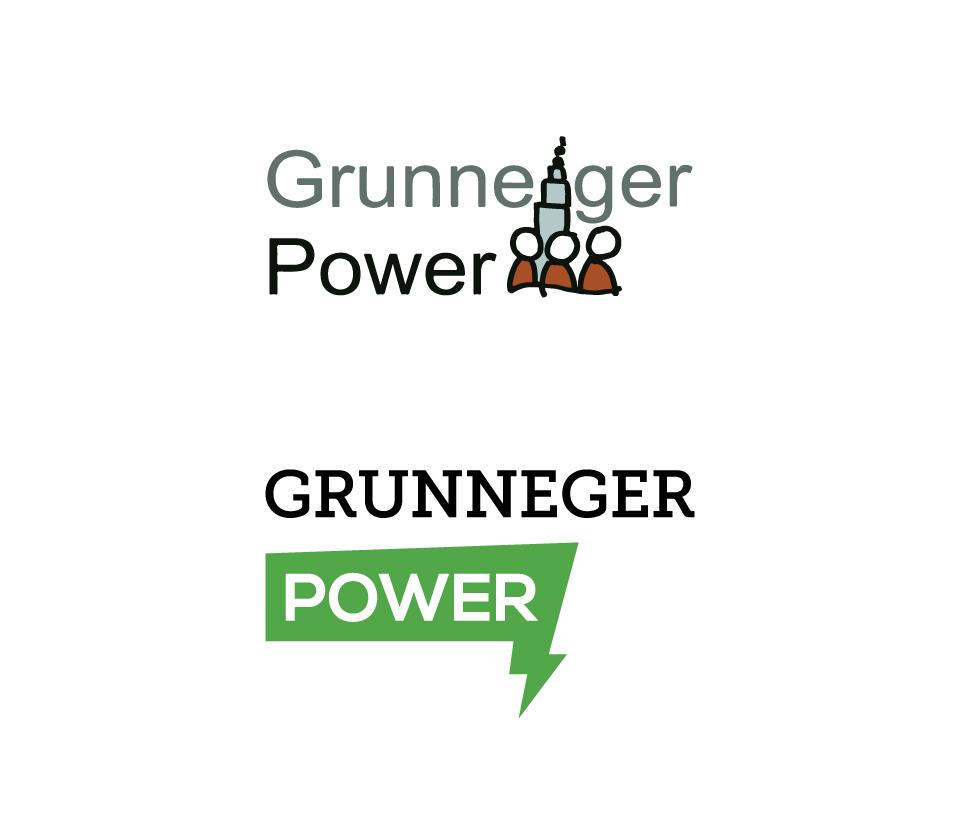 Grunneger Power - Logo oud en nieuw