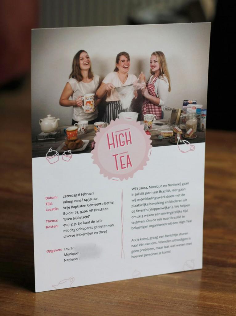 Flyer high tea laura